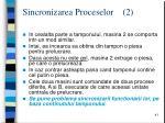 sincronizarea proceselor 2