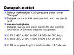datapak nettet