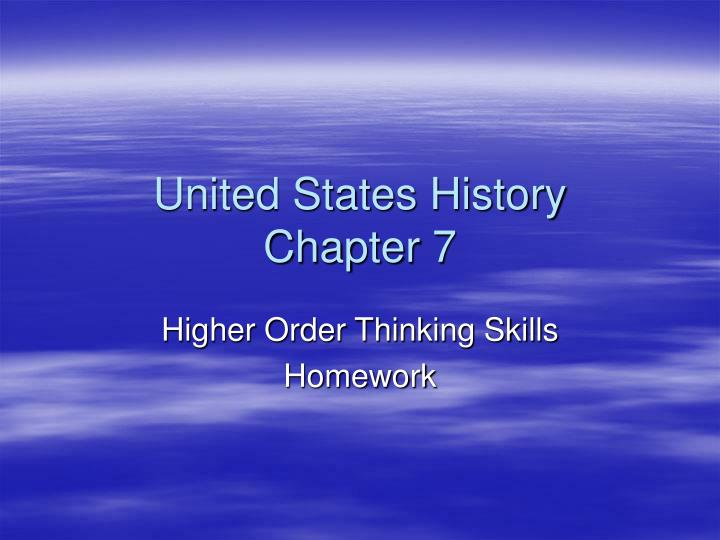 united states history chapter 7 n.