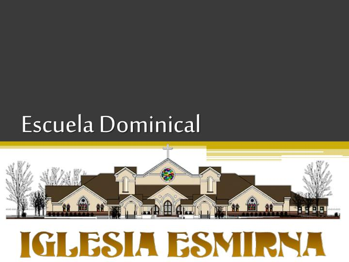 escuela dominical n.