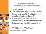 gepflegte ideologien insbesondere in westdeutschland