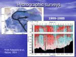 hydrographic surveys