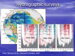 hydrographic surveys1