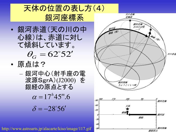 PPT - 第2回 天球座標とその変換...