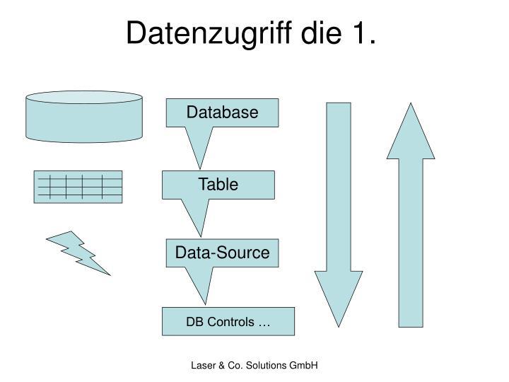 Datenzugriff die 1