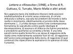 lettera a rinascita 1948 a firma di r guttuso g turcato mario mafai e altri artisti
