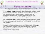 5 ottobre 2011 presentazione attivit osservatorio 2008 20113