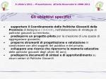 5 ottobre 2011 presentazione attivit osservatorio 2008 20119