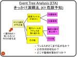 event tree analysis eta ky