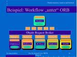 beispiel workflow unter orb1