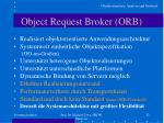 object request broker orb1