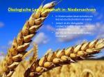kologische landwirtschaft in niedersachsen