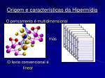 origem e caracter sticas da hiperm dia