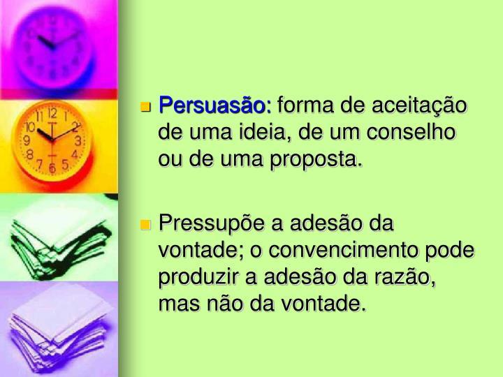Persuasão: