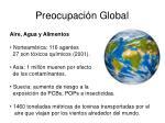 preocupaci n global
