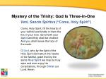 mystery of the trinity god is three in one1