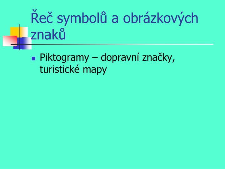 Řeč symbolů a obrázkových znaků