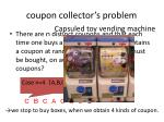 coupon collector s problem