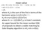 mean value1
