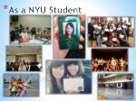 as a nyu student1