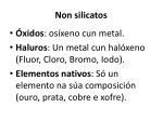 non silicatos1