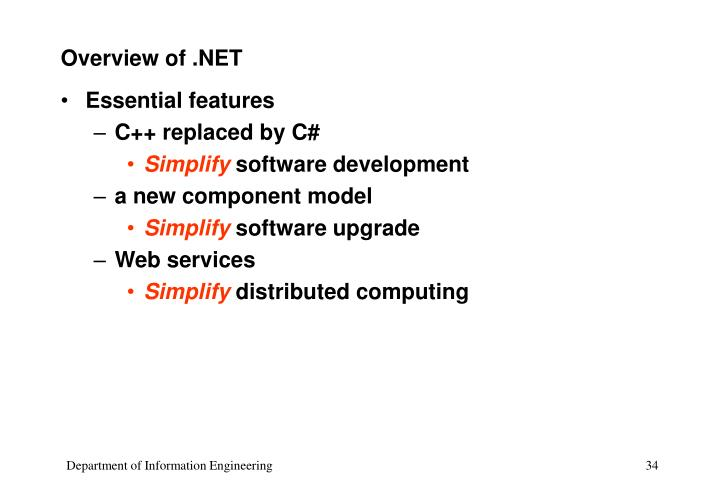 overview of net n.