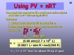 using pv nrt2