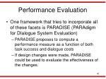 performance evaluation1