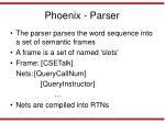phoenix parser