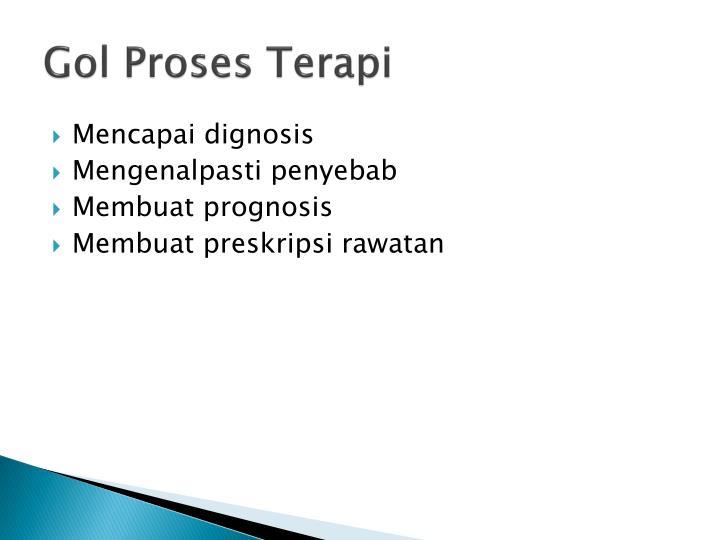 Gol proses terapi