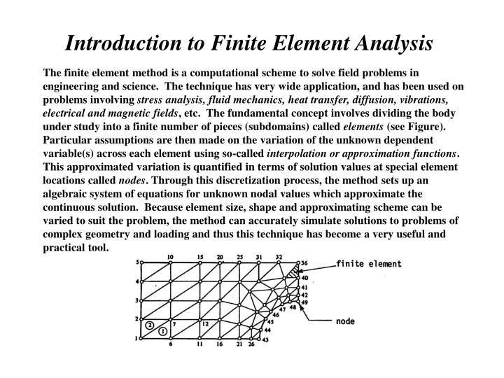 finite element analysis and analytical method 97 chapter 5 finite element analysis and an analytical approach of warm deep drawing of aisi 304 stainless steel sheet 51 introduction nowadays, the finite element based simulation is very widely used.