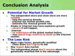 conclusion analysis