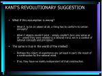 kant s revolutionary suggestion