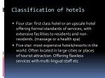 classification of hotels1