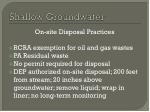 shallow groundwater2
