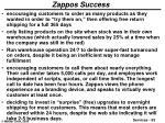 zappos success