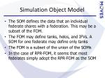 simulation object model