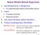 na ve model based approach1