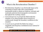 what is the reverberation chamber