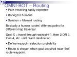 omni bot routing