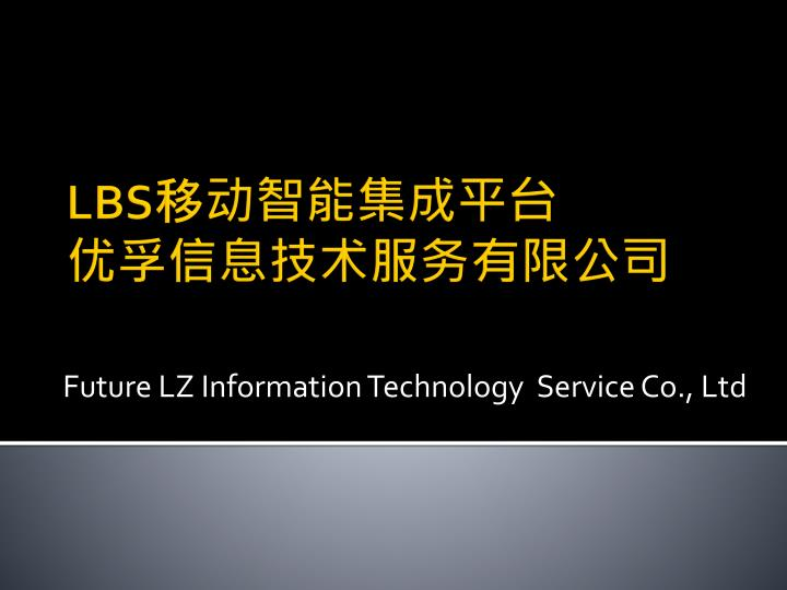 future lz information technology service co ltd n.