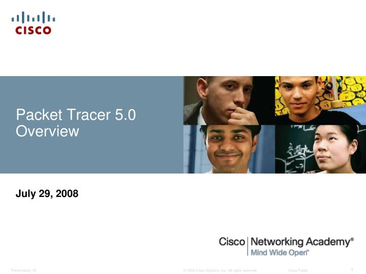 packet tracer 5 0 overview n.