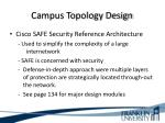 campus topology design1