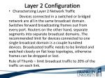 layer 2 configuration