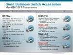 small business switch accessories mini gbic sfp transceivers