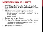 networking 101 http
