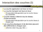 interaction des couches 3