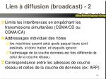 lien diffusion broadcast 2