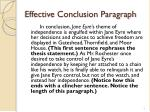 effective conclusion paragraph