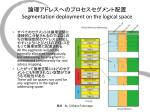 segmentation deployment on the logical space